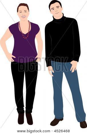Vector Body Couple