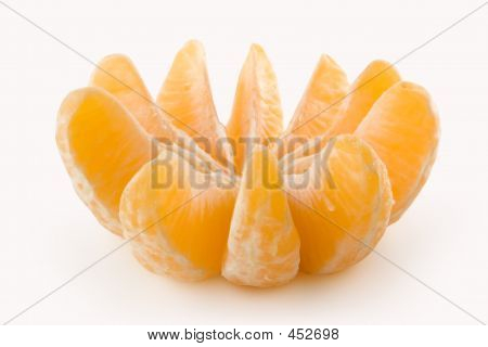 All Slices Of A Tangerine