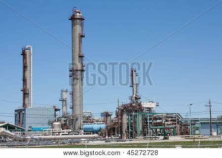 Petrochemical Plant Horizontal