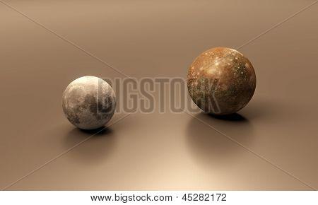 Callisto And The Moon Blank