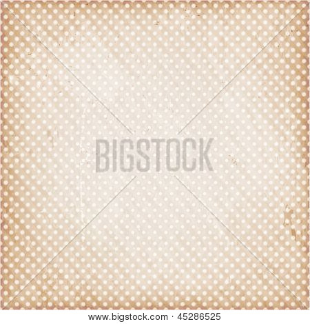 Abstract textured background with polka dot pattern.