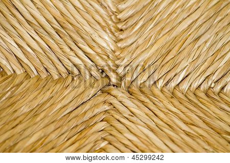 Portuguese handcrafted chair texture