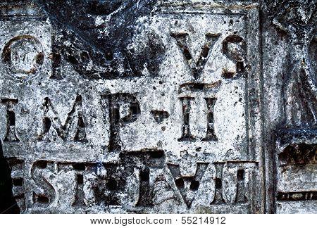 Antique Inscription