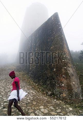 Foggy Haitian Landmark