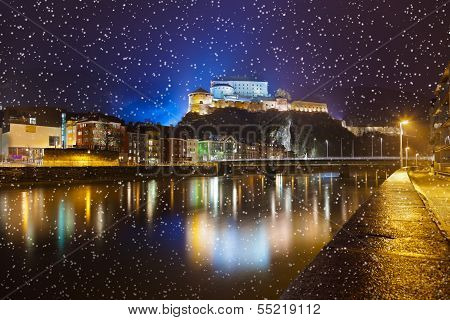 Castle Kufstein in Austria - architecture and travel background poster