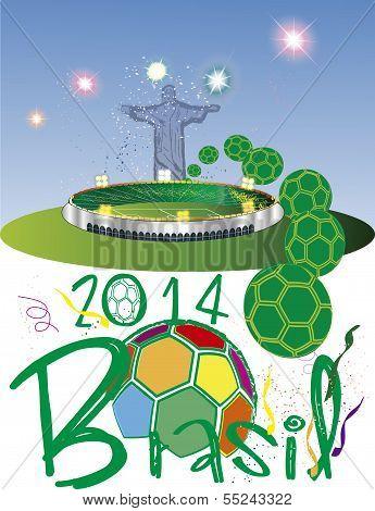 Brazil 2014 fotball stadium