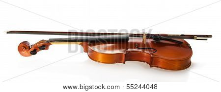 Violin and fiddlestick