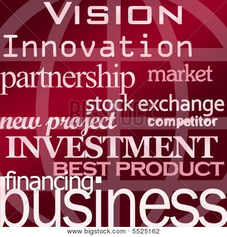 Vision  Business  Etc  Red