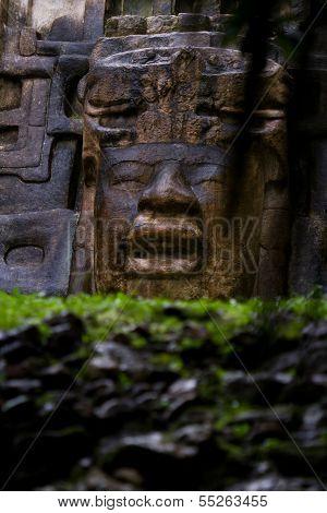 Ancient Maya ruins, Lamanai Belize