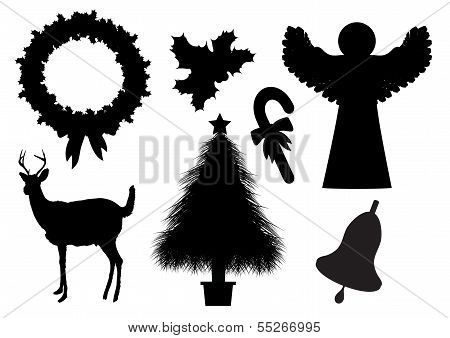 Christmas Silhouettes 2