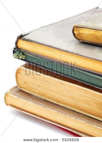 Old Books Isolated
