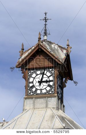 Clocktower In The Victoria And Alfred Waterwfront