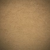 old grungy wall texture- brown concrete background. poster