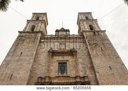 Cathedral Of San Gervasio, Valladolid, Yucatan, Mexico