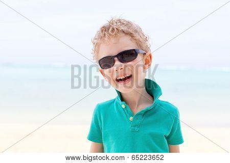 Boy At Vacation
