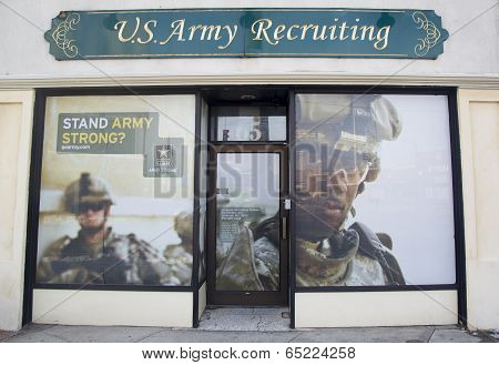 U.S. Army Recruiting Station in Lynbrook
