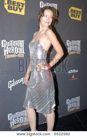 Olivia Wilde on the red carpet