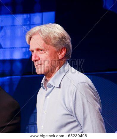 Las Vegas, Nv - May 5, 2014: Dssd Founder  Andy Bechtolsheim Makes Speech At Emc World 2014 Conferen
