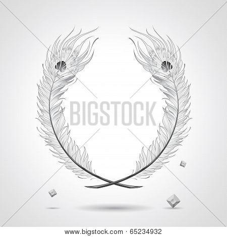 Gangsta Feather Frame