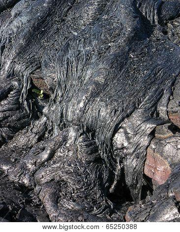 Lava Frozen In Time