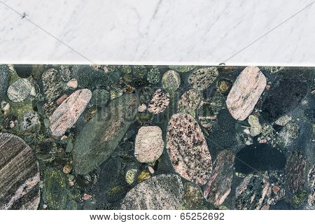 Colorful Granite And Marble Slabs