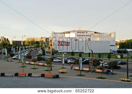 Vilnius Siemens Arena External View On May 14