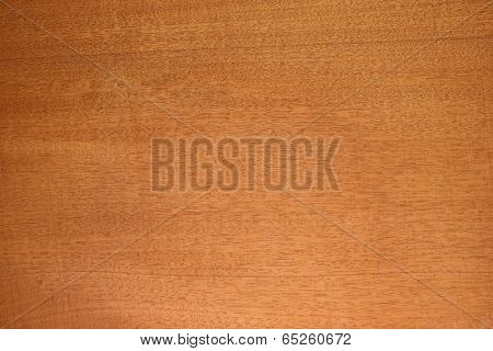 Honduras mahogany (big-leaf mahogany (Swietenia macrophylla),) wood texture. Sought after wood for guitar body and neck making. Sharp to the corners.
