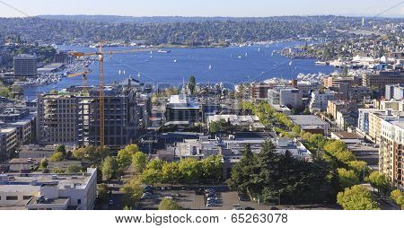 Seattle Downtown, Panoramic View