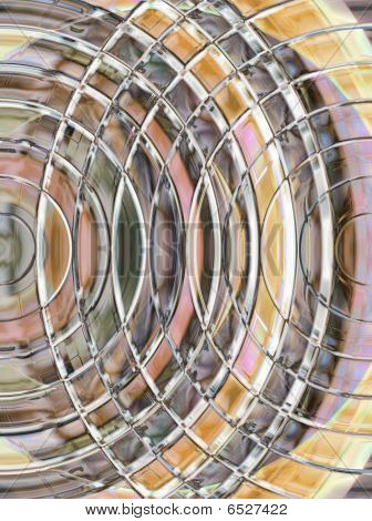 cut glass abstract background