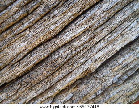 Very Old Wood Diagonal Texture