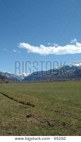 Uncompahgre Valley Toward Ouray