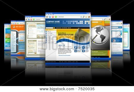 Web Technology Internet Websites Reflection
