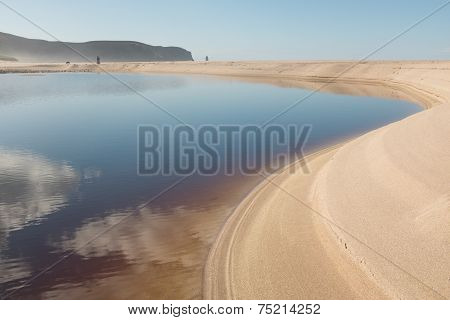 Sandwood Bay Lagoon
