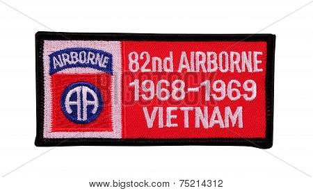 Eighty Second Airborne Patch