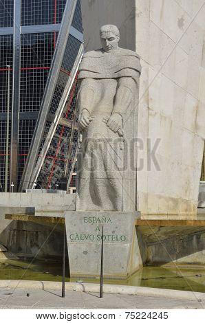 Statue To Calvo Sotelo