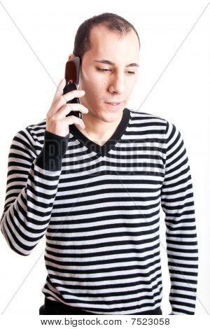 Talking On Cellphone