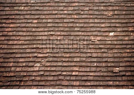 Old Roof Texture And Background.