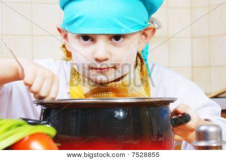 Serious Cook And Pan