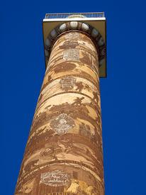 The Astoria Column In Astoria Oregon Usa