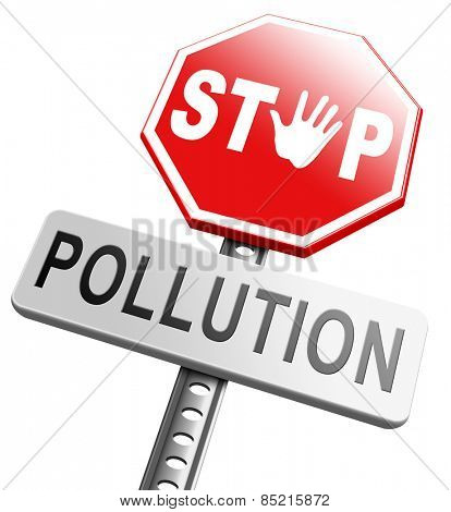 stop pollution reuse and recycle go green renewable energy and sustainable agriculture reduce waste poster