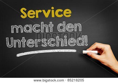Hand writes in German