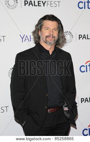 LOS ANGELES - MAR 12:  Ronald D. Moore at the PaleyFEST LA 2015 -