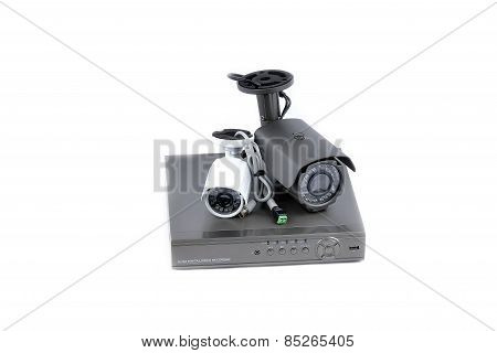 Digital Video Recorder and video surveillance cameras poster