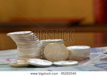 International currency and coins