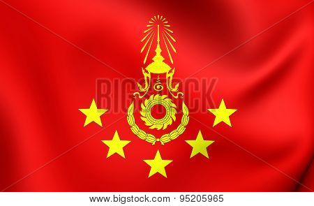 Commander-in-chief Of The Royal Thai Army Flag