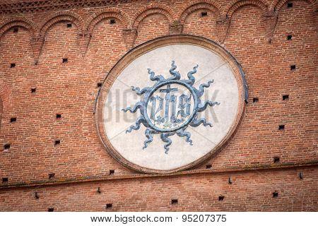 Palazzo Pubblico In Siena, Italy