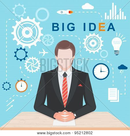 Infographic Concept Big Idea