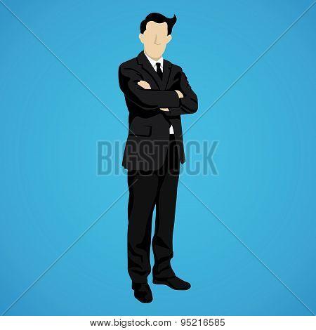 leader successful businessman