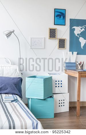 Teenage Boy Bedroom Design