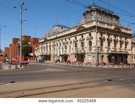 Poznanski Palace and Manufactory.